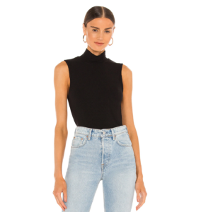 Sanctuary Essential Sleeveless Mock Neck Top Layering Tees for Fall 2021
