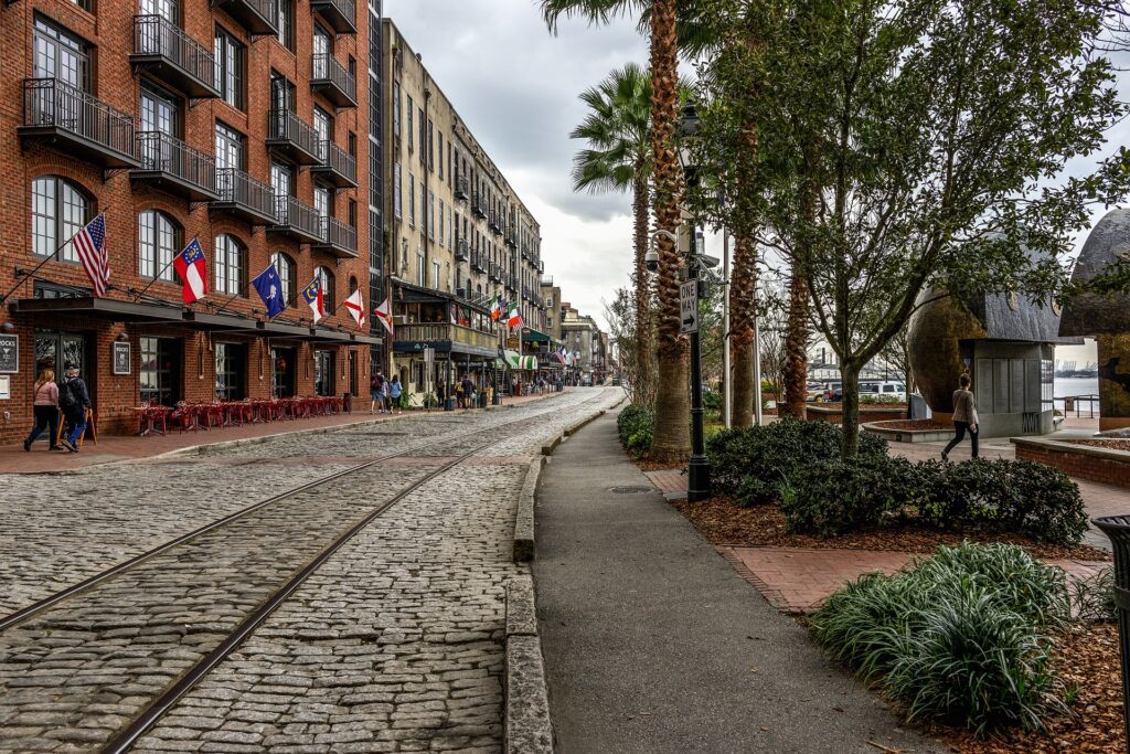 Savannah Georgia best vacation spots in the South