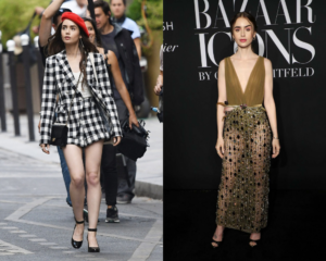Emily in Paris Lily Collins Best-Dressed Emmy Nominees 2021