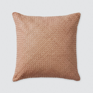 The Citizenry Dhara Square Leather Pillow Fall Decor Ideas Living Room Couch Throw Pillows